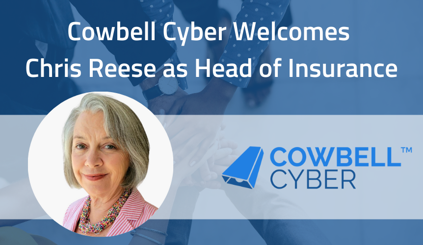 Industry Insurance Veteran Joins Cowbell Cyber